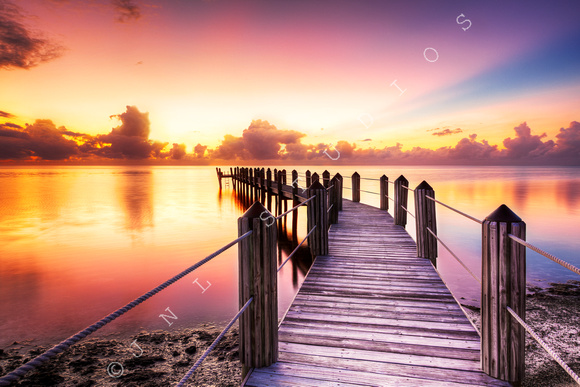 Florida Keys Sunrise Photo